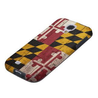Old Wooden Maryland Flag