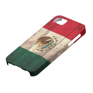 Old Wooden Mexico Flag Barely There iPhone 5 Case