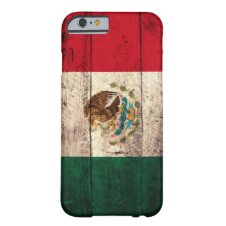 Old Wooden Mexico Flag Barely There iPhone 6 Case