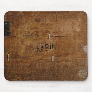 "Old ""Wooden"" Mousepad with (or without) your Name"