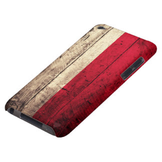 Old Wooden Poland Flag Barely There iPod Case