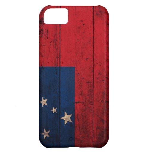 Old Wooden Samoa Flag iPhone 5C Cases