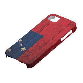 Old Wooden Samoa Flag iPhone 5 Cases