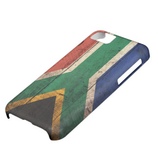 Old Wooden South Africa Flag iPhone 5C Case