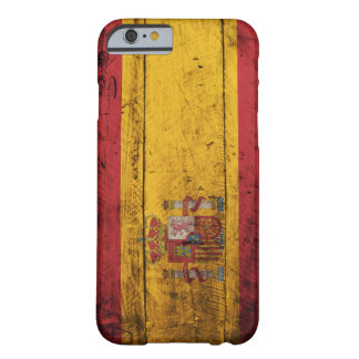 Old Wooden Spain Flag Barely There iPhone 6 Case