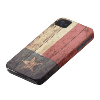 Old Wooden Texas Flag; iPhone 4 Case
