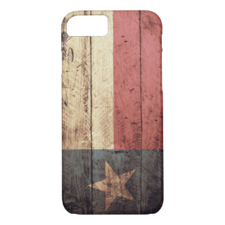 Old Wooden Texas Flag; iPhone 8/7 Case