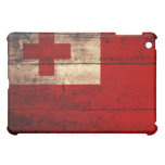 Old Wooden Tonga Flag Cover For The iPad Mini