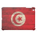 Old Wooden Tunisia Flag iPad Mini Covers