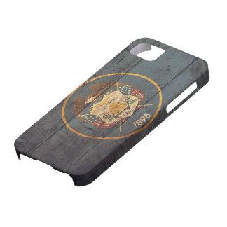 Old Wooden Utah Flag; iPhone 5 Case