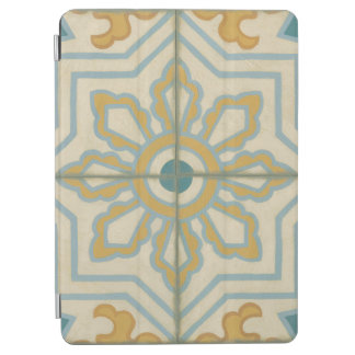 Old World Decorative Tile Pattern iPad Air Cover