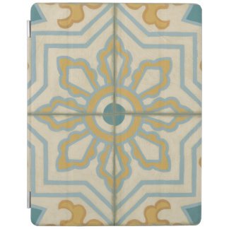 Old World Decorative Tile Pattern iPad Cover