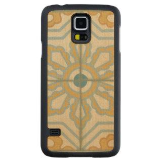 Old World Decorative Tile Pattern Maple Galaxy S5 Case