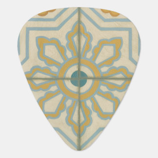 Old World Decorative Tile Pattern Plectrum