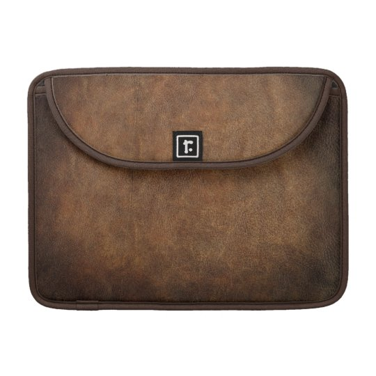 Old World Faux Leather MacBook Pro Sleeve