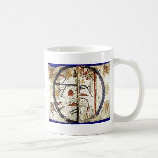 Old world map, 12th century mugs
