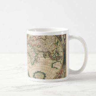 Old World map 1689 Coffee Mugs