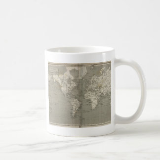 Old world map 1820 coffee mug