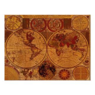 Old World Map Art Print Photograph