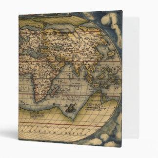 Old World Map Binder