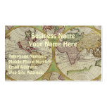 OLD WORLD MAP Business & Profile Cards Business Card