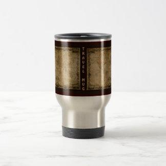 Old World Map Classc Gift Design Stainless Steel Travel Mug