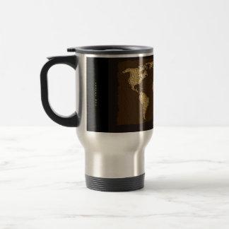 Old World Map Designer Gift Stainless Steel Travel Mug
