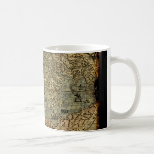Old World Map History-lover Mugs