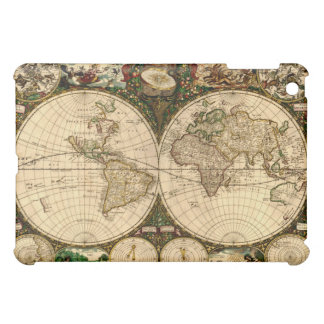Old World Map iPad Cases iPad Mini Case