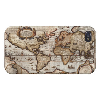 Old World Map iPhone 4 Savvy Case iPhone 4 Case