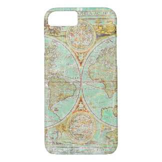 Old World Map iPhone 8/7 Case