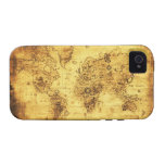 Old World Map iPhone Case iPhone 4/4S Cases