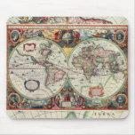 Old World Map Mousepad Mousepad