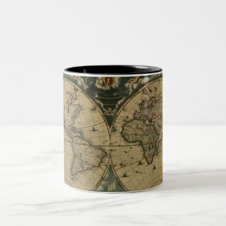 Old World Map Mugs