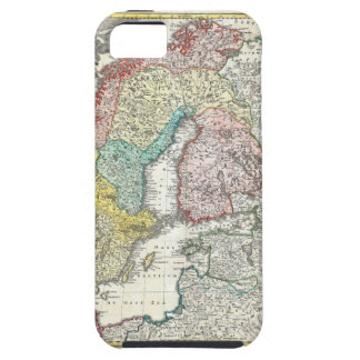 Old World Map of Northern Europe iPhone 5 Cover