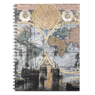 Old World Map - Out to Sea Notebooks