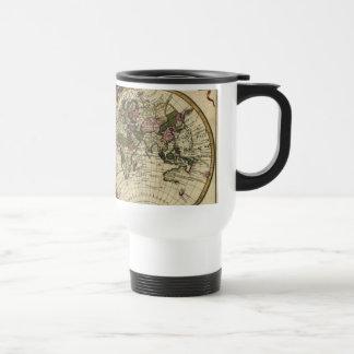 Old World Map Tastefully Designed Travel Mugs