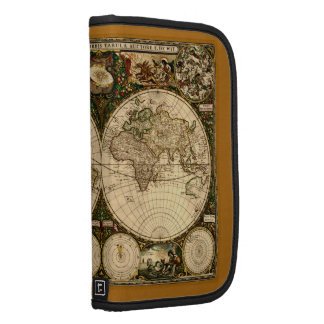 Old World Map Vintage Art Planners