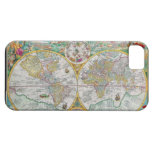 Old World Map with Colourful Artwork Case For The iPhone 5