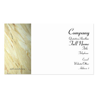 Old World Marble Business Cards