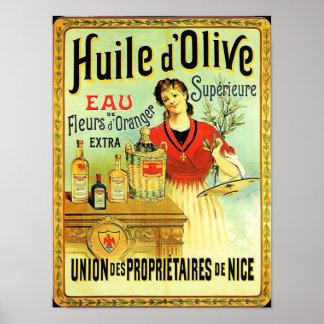 Old World Olive Oil Vintage Cooking Posters