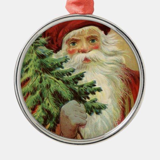Old World Santa Joyful Christmas Christmas Ornament