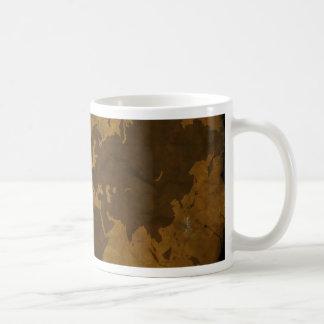 Old World Style Map Mug