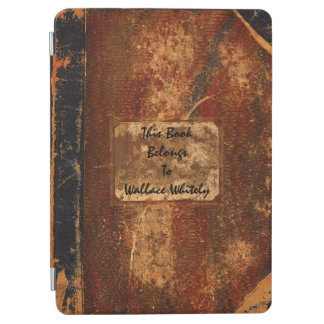 Old Worn Out Grunge Text Book iPad Air Cover