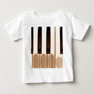 Old Worn Piano Keys Baby T-Shirt