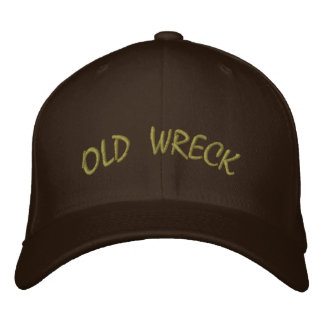 Old Wreck Hat Embroidered Hat