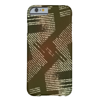 Old Writings Barely There iPhone 6 Case