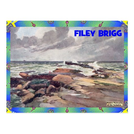 OLD YORKSHIRE - FILEY BRIGG POST CARDS