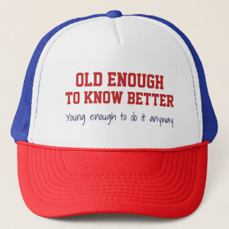 """Old & Young"" hat"