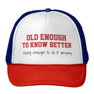 """""""Old & Young"""" hat"""